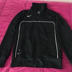 Nike Dri-Fit Black Zip Up Jacket